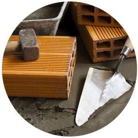 Nous réalisons l'exécution de petits travaux de maçonnerie